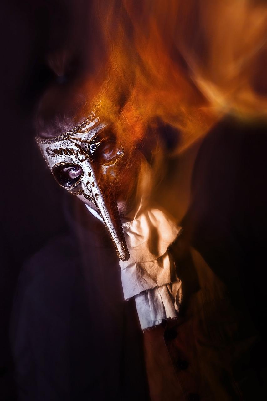 королевская маска огонь картинки голосовые