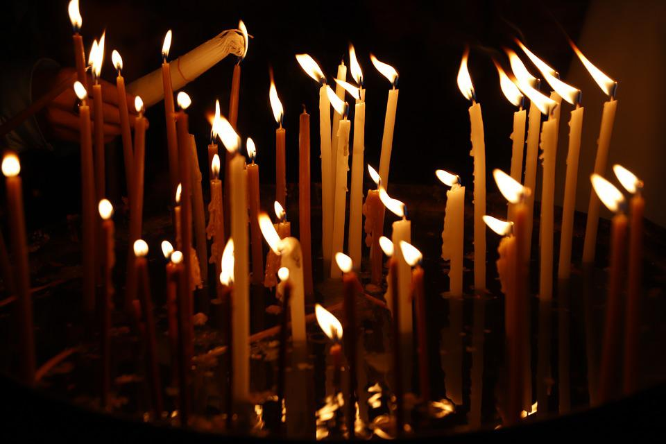 Candles, Candle, The Flame, Light, Prayer, Hope, Church