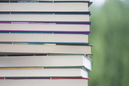 Livros, literatura, livro, leitura, conhecimento