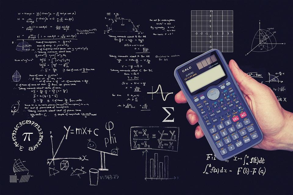 ジオメトリ, 数学, 電卓, キューブ, 正六面体, ボディ, 回転の軸線, 軸, ボリューム, 表面