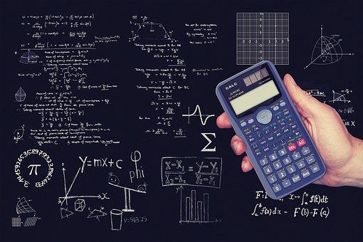 Geometria, Matemática, Calculadora, Cubo
