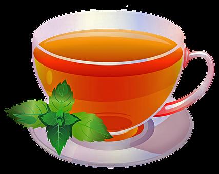 Tea, Lemon, Mint, Black Tea, Herbal Tea,Honey Tea