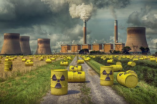 Nuclear, Central, Energy, Radiation