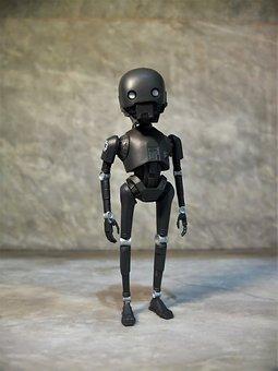 K-2So, Robot, Star, Wars, Film, Video