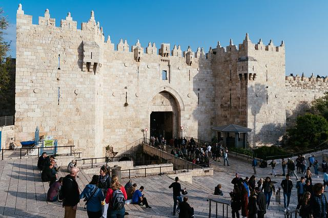 Damascus Gate Israel Ancient - Free photo on Pixabay