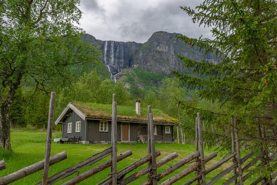 60+ Gambar Pemandangan Alam Dan Rumah Terbaru
