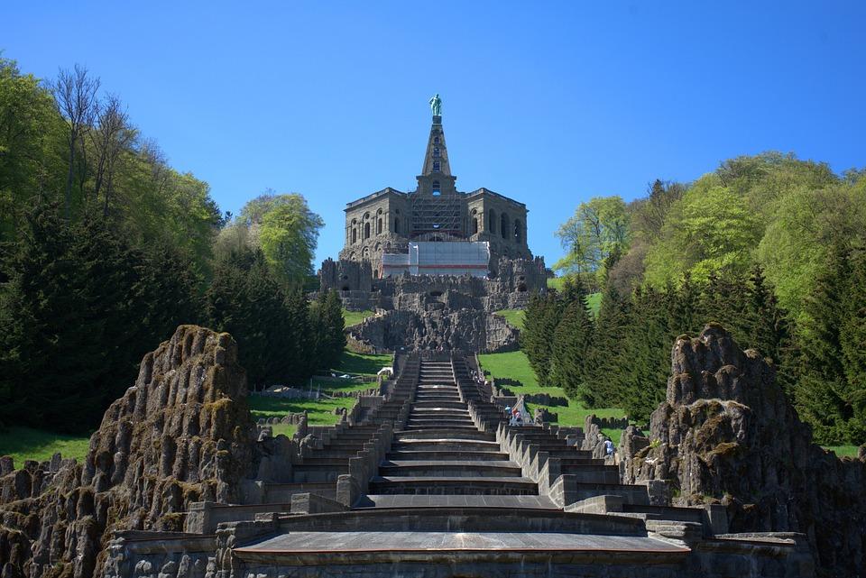 Herkules Treppe in Kassel