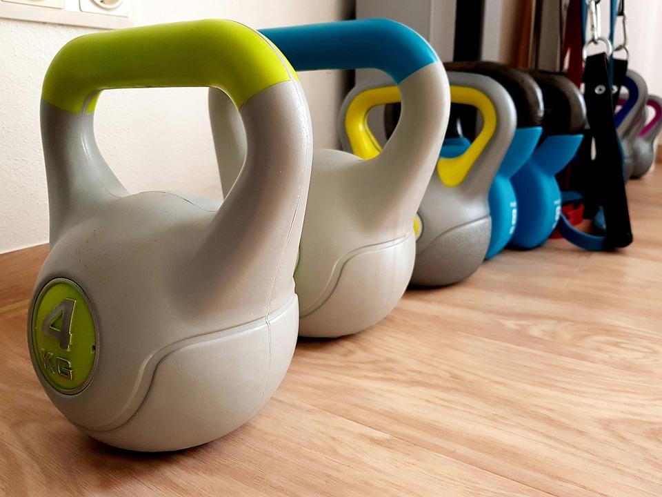 重量, トレーニング, 筋肉の建物, 運動, 健康