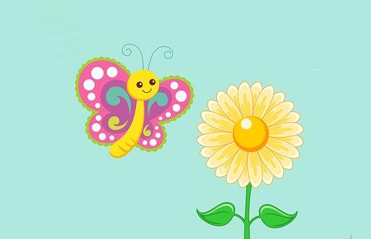 Bunga Kartun Gambar Unduh Gambar Gambar Gratis Pixabay