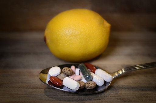 Leki, Antybiotyki, Cytryna, Wybór