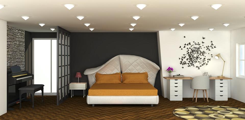 Innenraum Schlafzimmer - Kostenloses Bild auf Pixabay