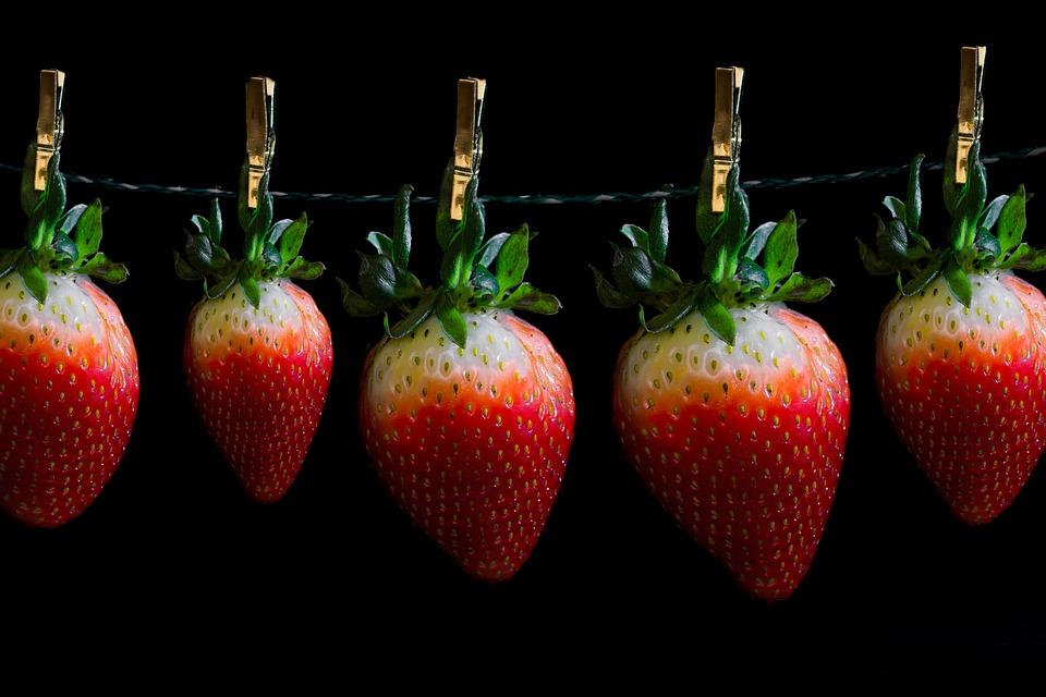 vitaminer i jordbær