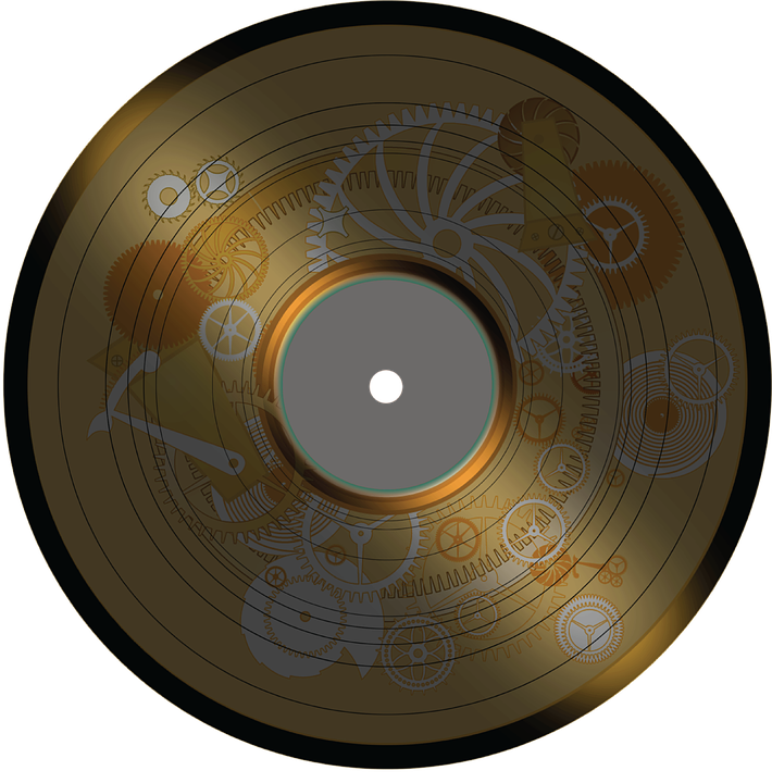 Disco Gold Metall Kostenlose Vektorgrafik Auf Pixabay