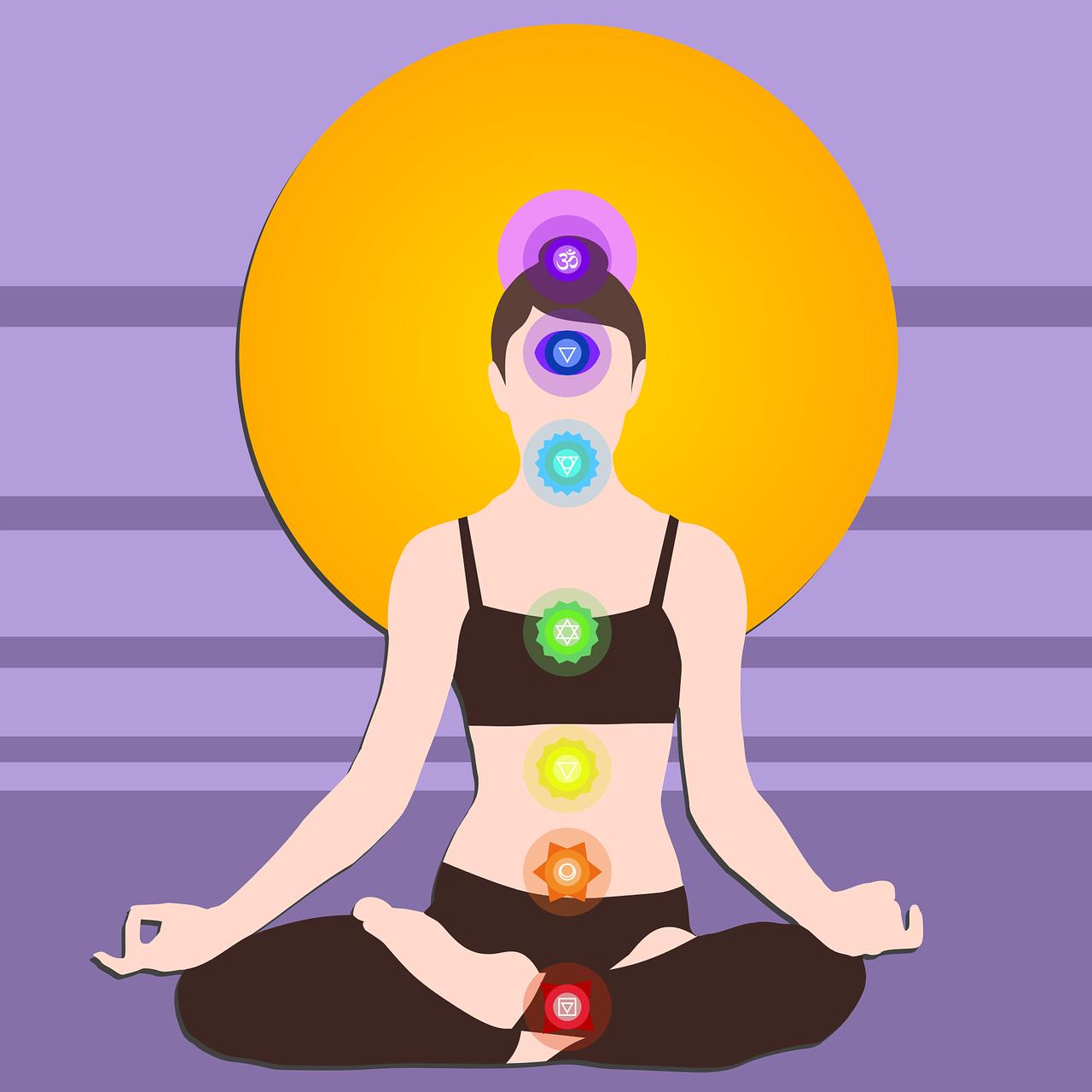 Luân Xa Yoga Thiền - Miễn Phí vector hình ảnh trên Pixabay