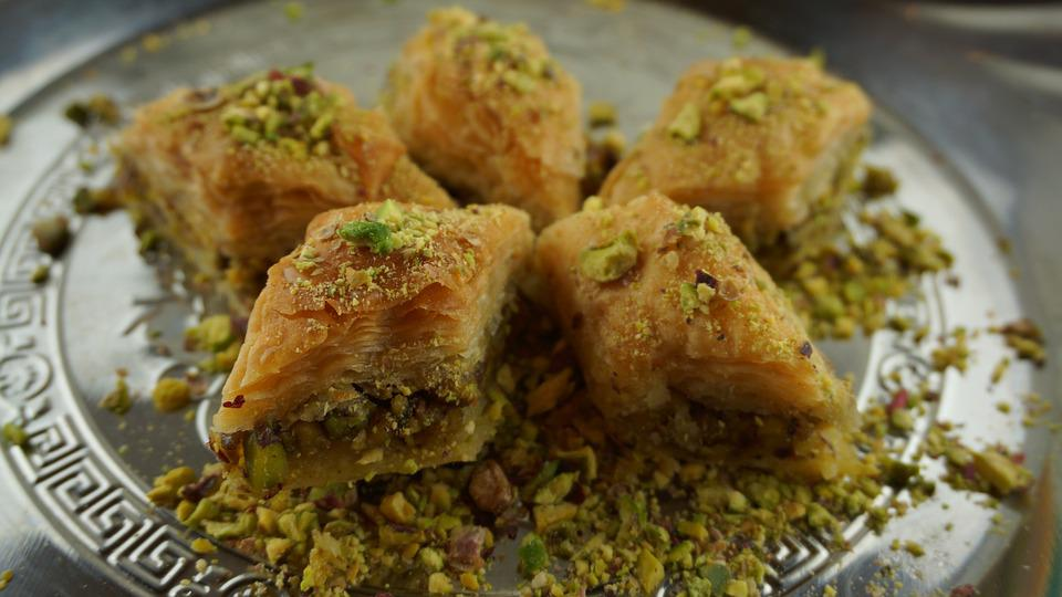 Snack your day away with Turkish own Baklava! Source: Pixabay