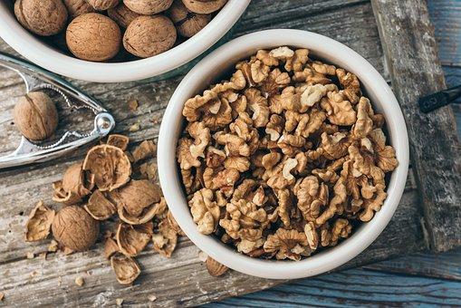 Walnut, Bowl, Healthy, Food, Breakfast
