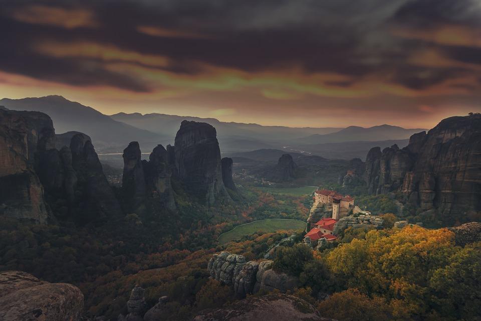 The Meteora monasteries in Greece 4