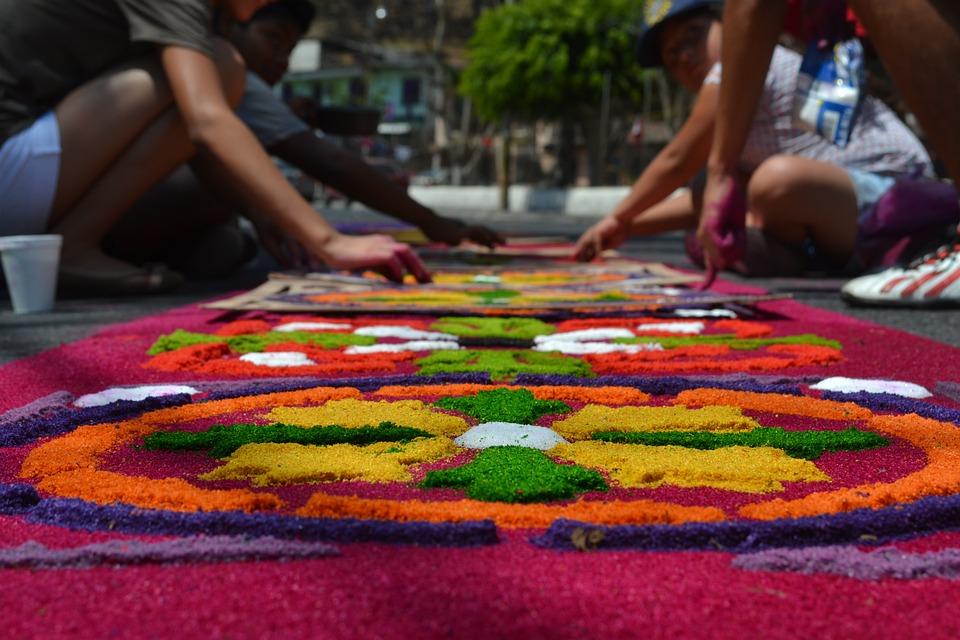 Wielki Tydzień, Gwatemala, Dla Dzieci, Procesja