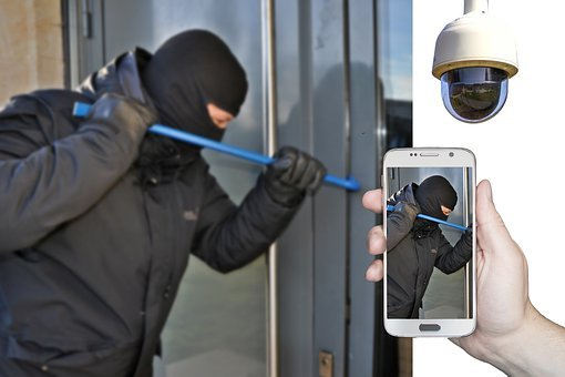 How to be Streetwise Burglar, Burglary, Surveillance Camera
