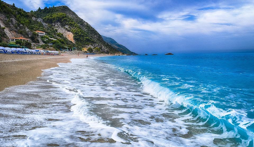 Lefkas Ionische eilanden