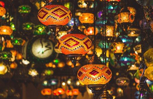 Istanbul, Kalkun, Lampu, Cahaya, Budaya