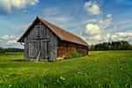 idylla, obszarów wiejskich, krajobraz