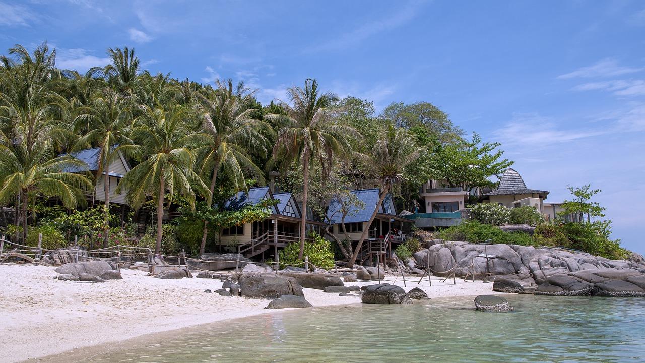 Ko Nang Yuan; beaches in Thailand