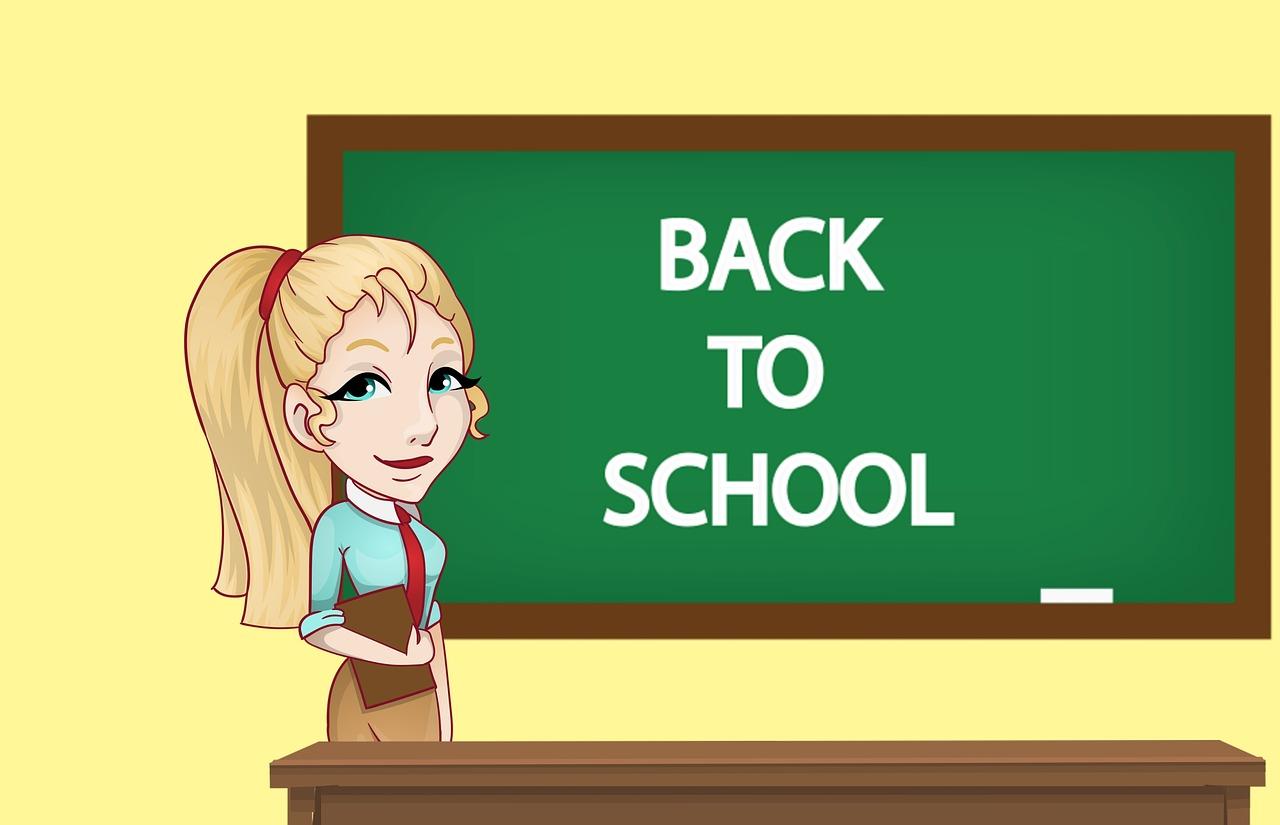 Salle De Classe, Enseignant, Conseil, Livre, Femme
