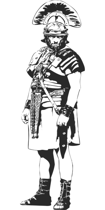 The Roman Centurion, Soldier, Armor, Military