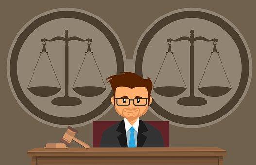 Juiz, Tribunal De Justiça, Martelo