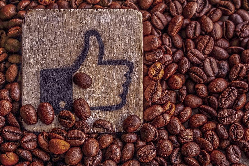 Thumbs Up, Coffee, Coffee Beans, Roasted Coffee Beans