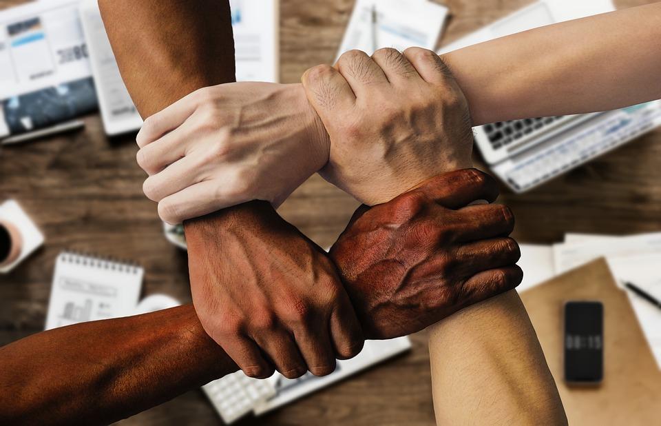 Екип, Работа, Сграда, Офис, Разнообразие, Заедно