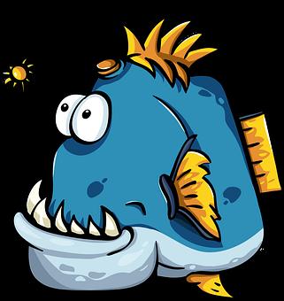 Weird Fish Clipart 2
