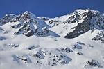 śnieg, góry, julierpass