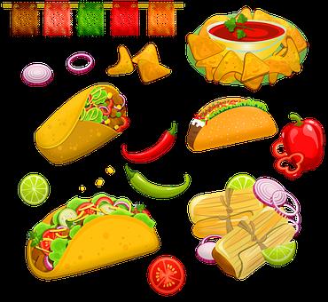 Comida Mexicana, Taco Martes, Burrito