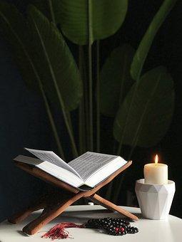 Ramadan, Quran, Lilin, Islam, Suci