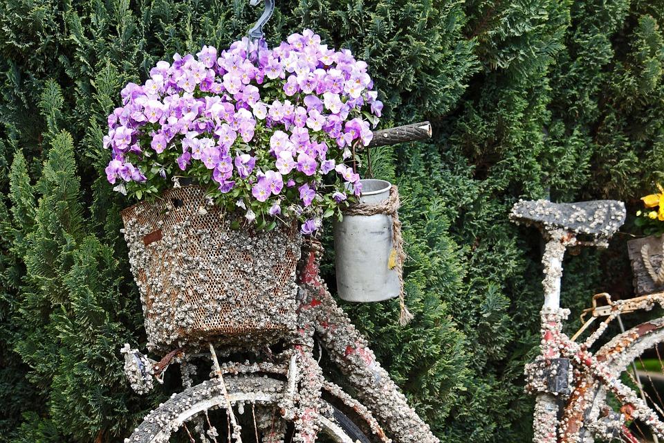 Atemberaubend Gartendeko Altes Fahrrad Nostalgie - Kostenloses Foto auf Pixabay @BC_48