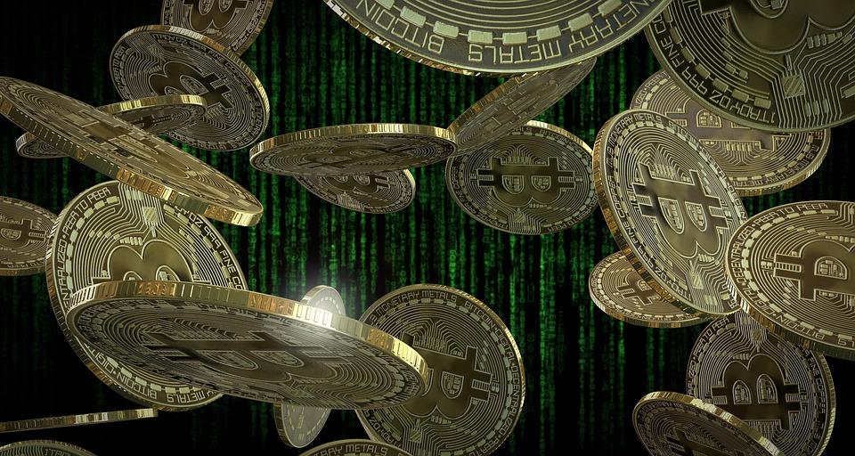 Bitcoin, Coins, Virtual, Currency, Finance, Cash