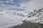 biel, śniegu, góry