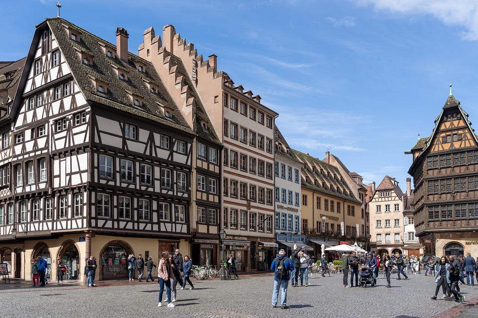Centre-ville - Strasbourg - Ville - France - SchoolMouv - Géographie - CM1