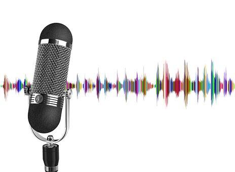 Podcast, Microphone, Wave, Audio, Sound