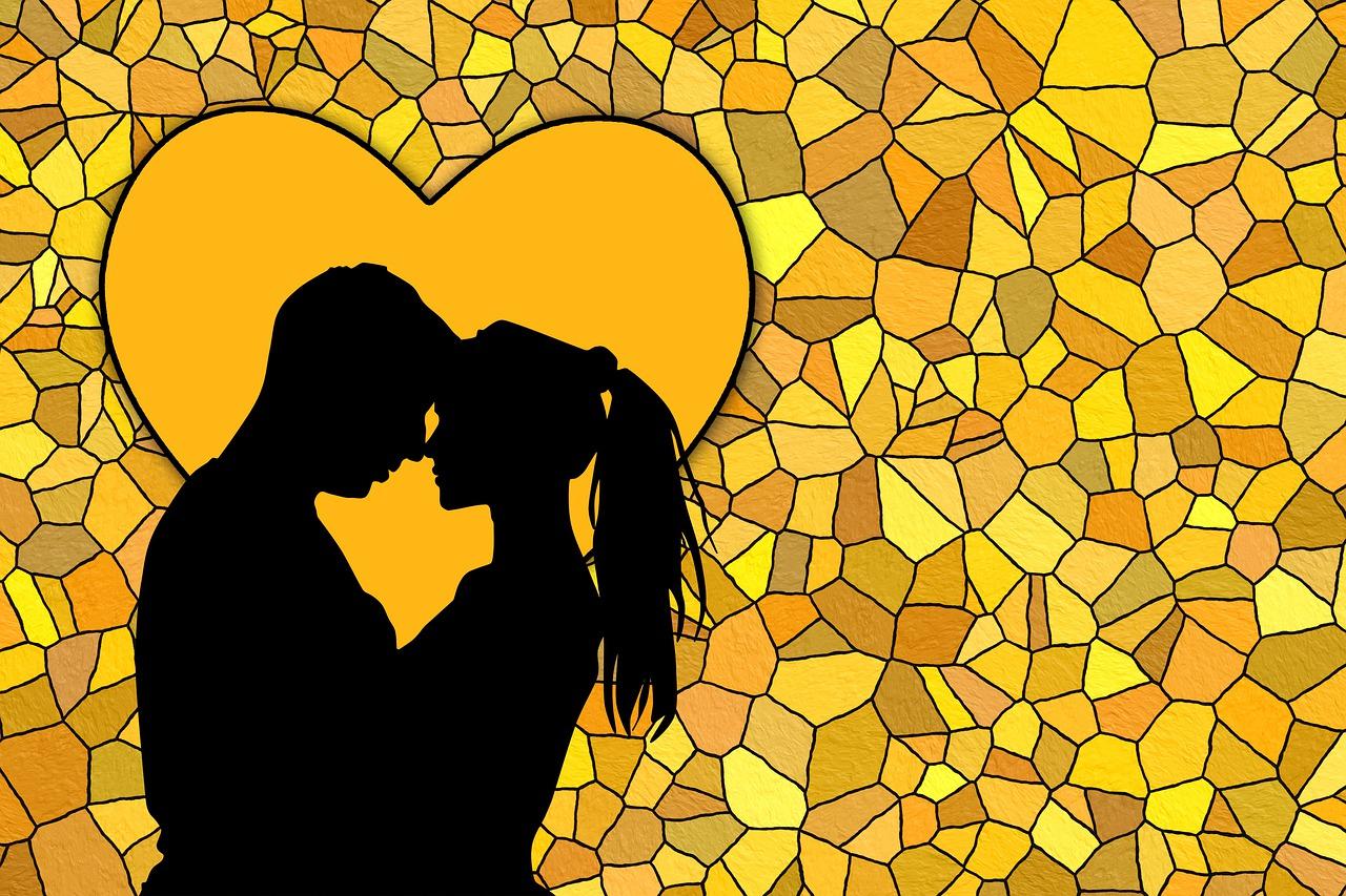 Истории любви на картинках