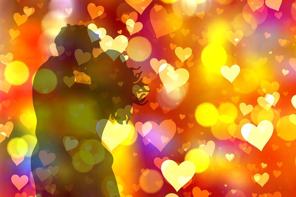 Amore, Cuore, Coppia, Bacio, Romanticismo, Bokeh