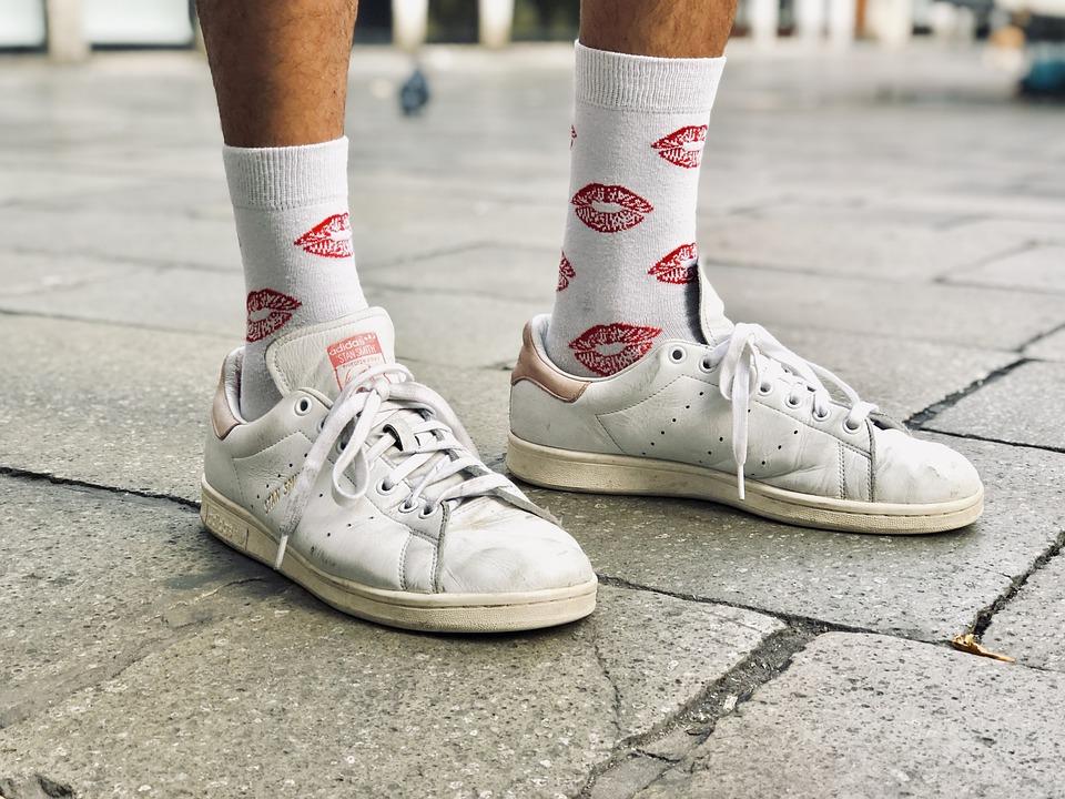 Adidas Stan Smith Socks - Free photo on
