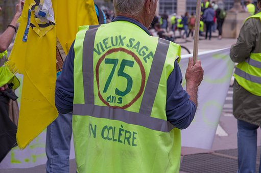 France, Gilets Jaunes, Manifestation