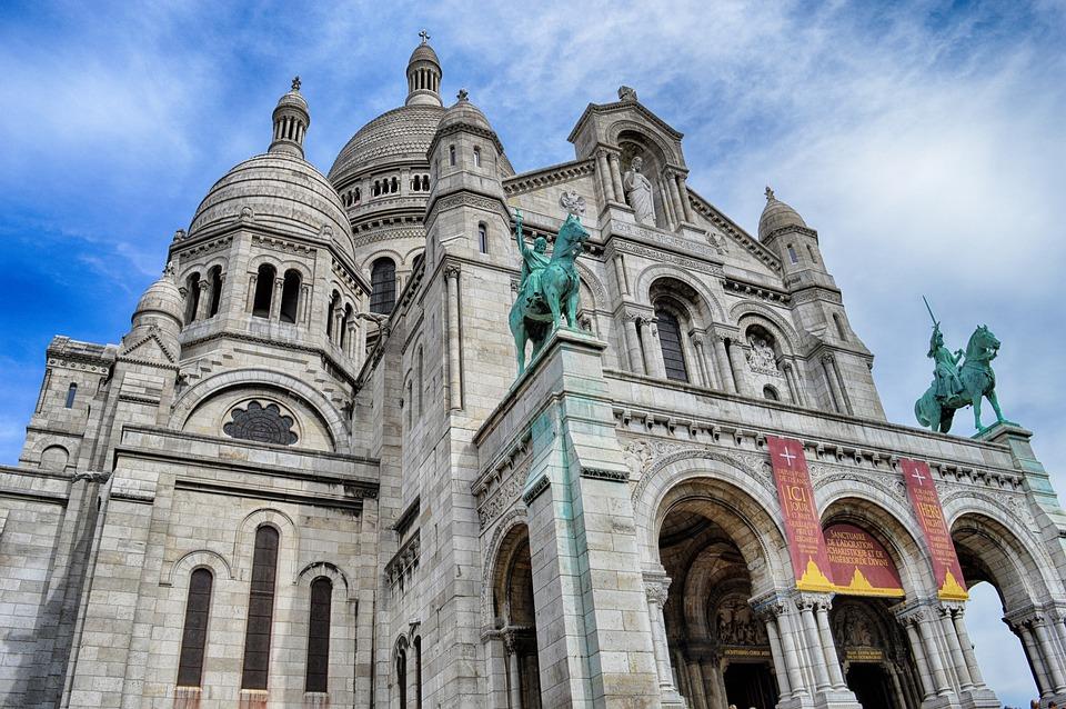Sacred Heart, Paris, France, Montmartre, Church