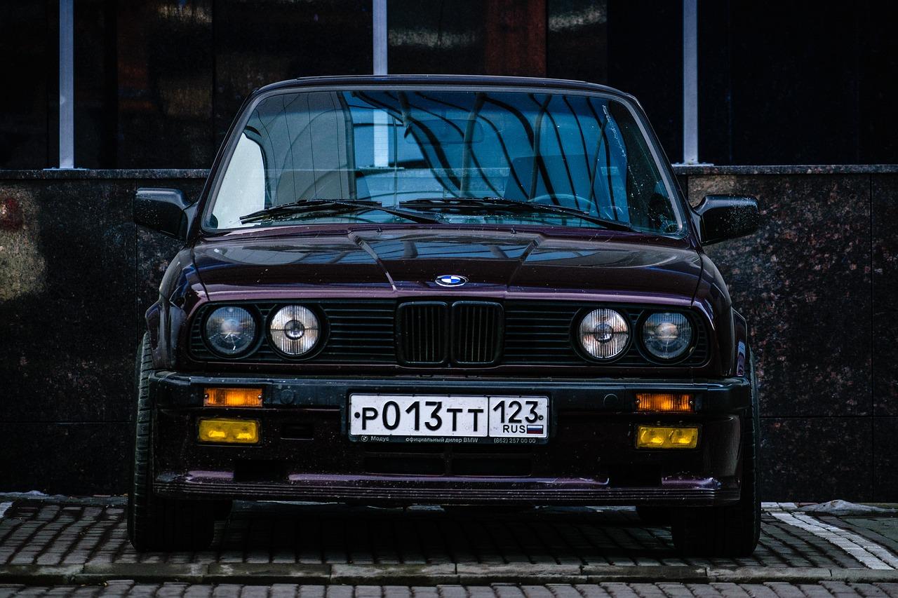 Bmw Old Car Free Photo On Pixabay
