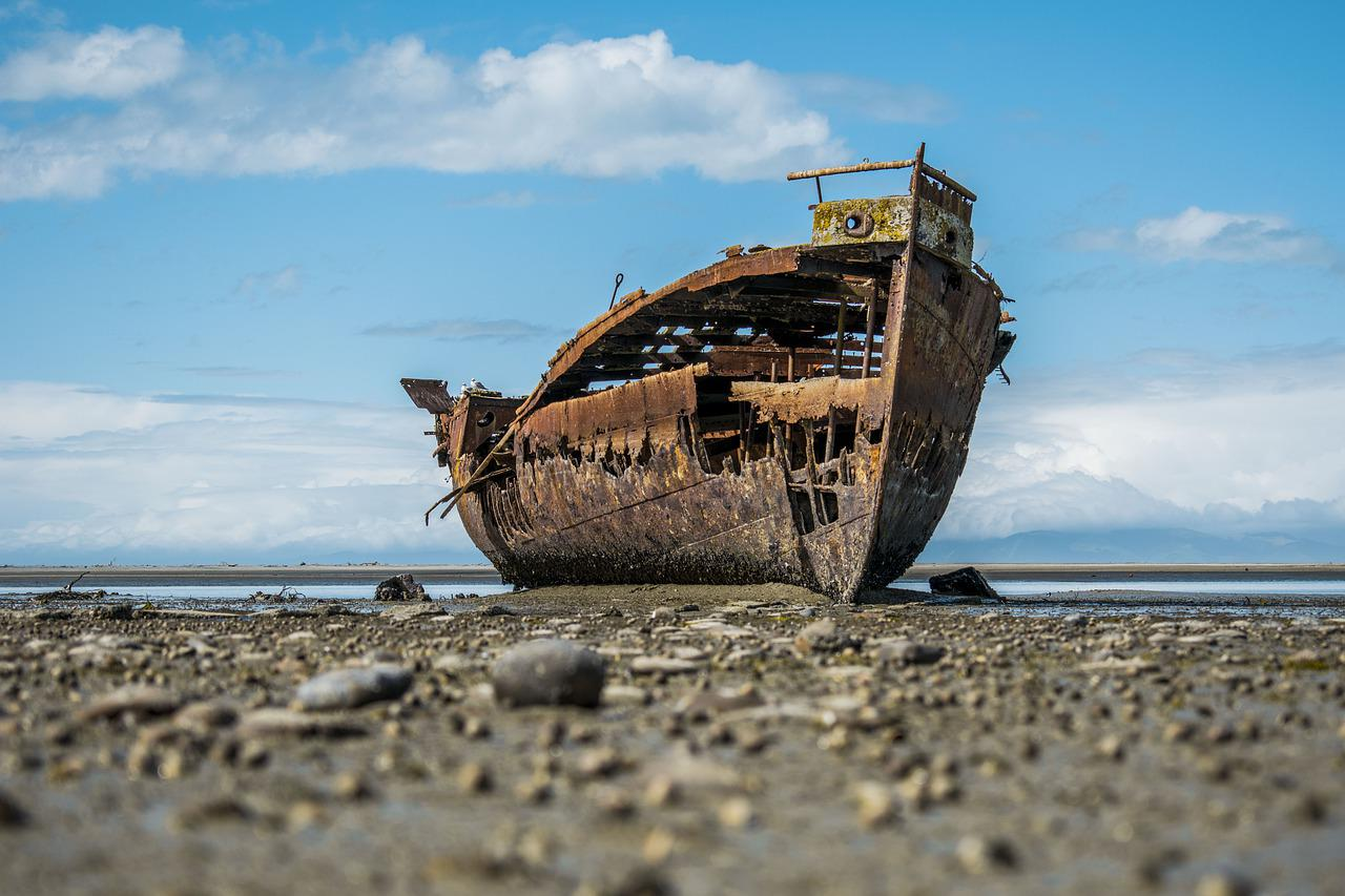 Shipwreck Boat Ship - Free photo on Pixabay