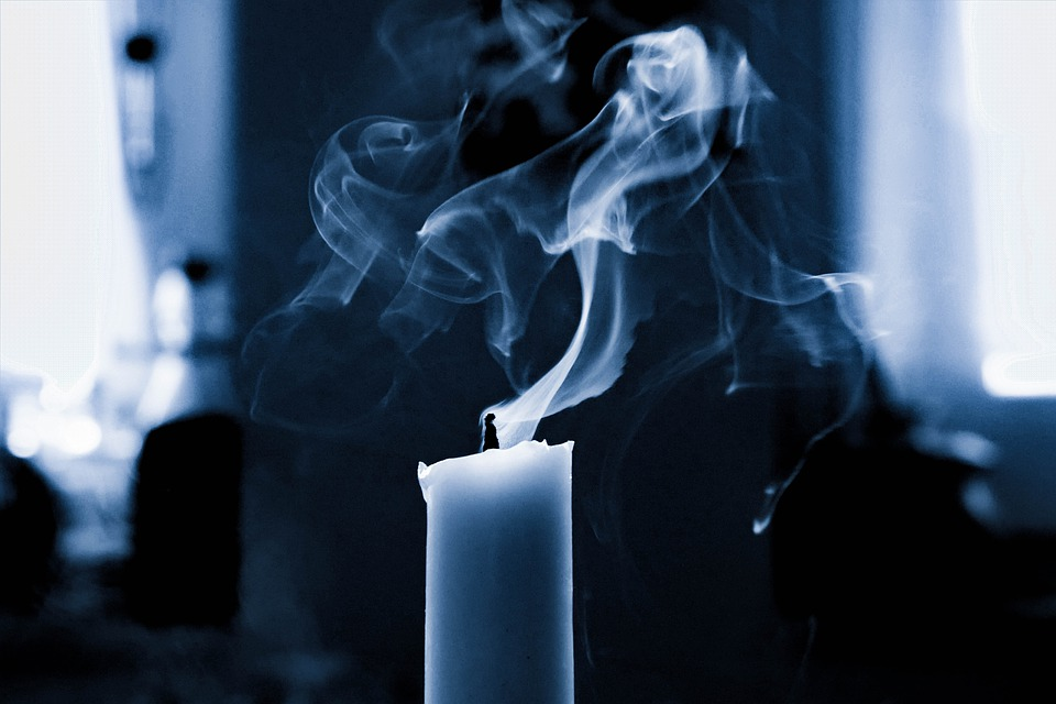 Candle, Smoke, Wick, Flame, Burn, Mood, Blown Out, Glow