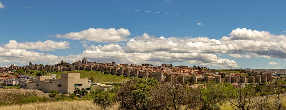 España, Ciudad, Avila, Arquitectura, La Pared